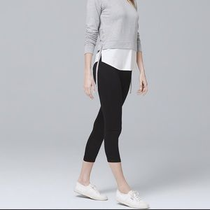 White House Black Market Crop Leggings